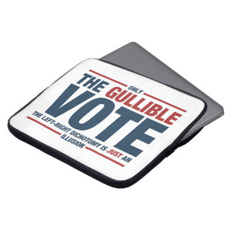 Funda Para Portátil Manga crédula del ordenador portátil del voto
