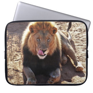 Funda Para Portátil Manga del ordenador portátil del león