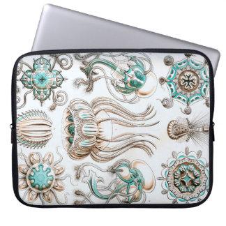 Funda Para Portátil ¡Medusas de Ernst Haeckel Narcomedusae!