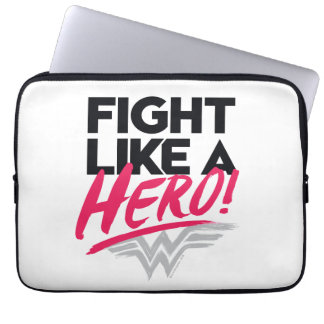Funda Para Portátil Mujer Maravilla - lucha como un héroe