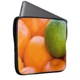 Funda Para Portátil Naranjas y fotografía del primer de la cal