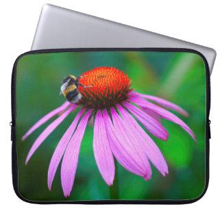 Funda Para Portátil Naturaleza de la abeja de la caja del ordenador