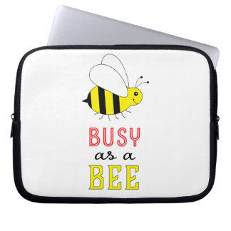 Funda Para Portátil Ocupado como abeja