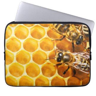 Funda Para Portátil Panal y diseño del modelo de las abejas