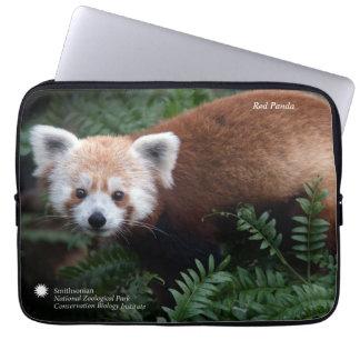 Funda Para Portátil Panda roja de Smithsonian el  