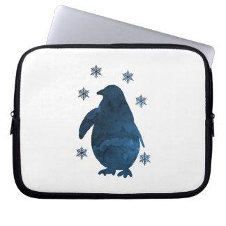 Funda Para Portátil Pingüino