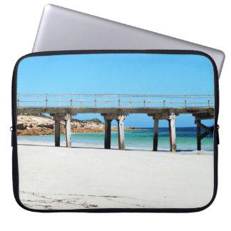 Funda Para Portátil Puerto Rickaby, sur de Australia, embarcadero