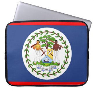 Funda Para Portátil Símbolo del país de la bandera de Belice