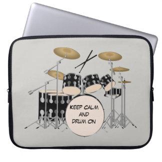 Funda Para Portátil Sistema ilustrado del tambor