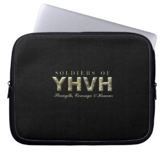Funda Para Portátil SOLDADOS del cristiano de YHVH