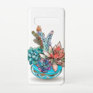 Funda Para Samsung Galaxy S10 Flores elegantes