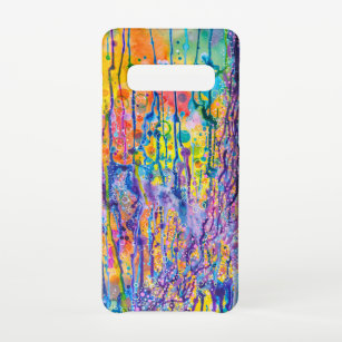 Funda Para Samsung Galaxy S10 Impresión de lienzo abstracto