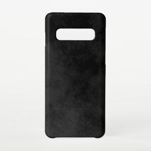 Funda Para Samsung Galaxy S10 Negro moteado simple de presupuesto