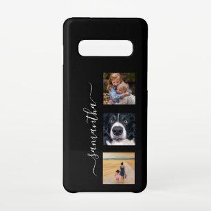 Funda Para Samsung Galaxy S10 Personalizado de plantilla de foto de nombre escri