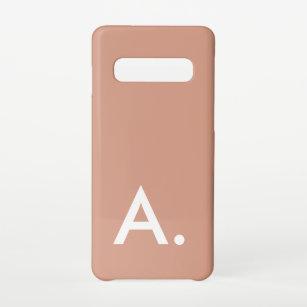 Funda Para Samsung Galaxy S10 Personalizado rosa simple Minimalista de Rubor ini