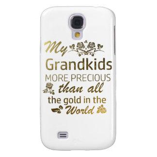 Funda Para Samsung Galaxy S4 Ame mis diseños del Grandkid