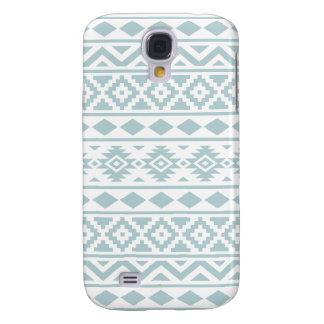 Funda Para Samsung Galaxy S4 Azul azteca del huevo del pato de Ptn III de la