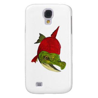 Funda Para Samsung Galaxy S4 Belleza de color salmón