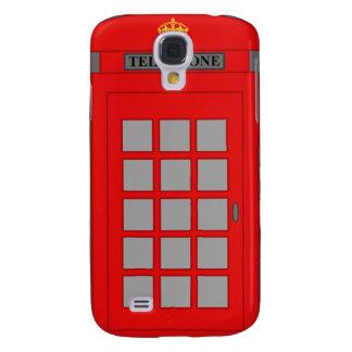 Funda Para Samsung Galaxy S4 Cabina de teléfonos británica