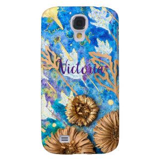 Funda Para Samsung Galaxy S4 Caja personalizada del teléfono con la flor del