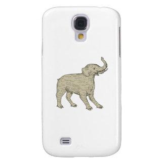 Funda Para Samsung Galaxy S4 Dibujo lateral de Baku