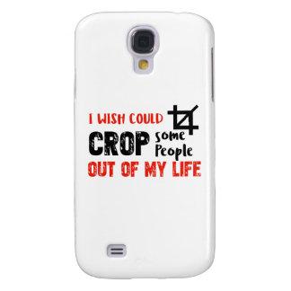 Funda Para Samsung Galaxy S4 Diseños divertidos del friki de la gente de la
