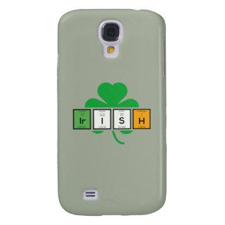 Funda Para Samsung Galaxy S4 Elemento químico Zz37b del cloverleaf irlandés