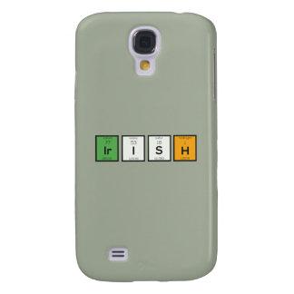 Funda Para Samsung Galaxy S4 Elementos químicos irlandeses Zy4ra