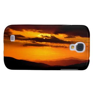 Funda Para Samsung Galaxy S4 Foto hermosa de la puesta del sol
