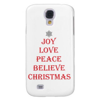 Funda Para Samsung Galaxy S4 Iphone/Samsung/caso del navidad de Ipad