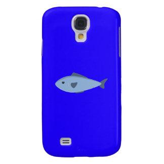 Funda Para Samsung Galaxy S4 Pescados de mar azules lindos Q1Q