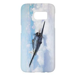 "Funda Para Samsung Galaxy S7 Aviation Art Device Cass  ""F6F Hellcat"""