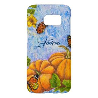 Funda Para Samsung Galaxy S7 Caja personalizada del teléfono con la mariposa y