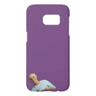 Funda Para Samsung Galaxy S7 Caja púrpura de la abuela