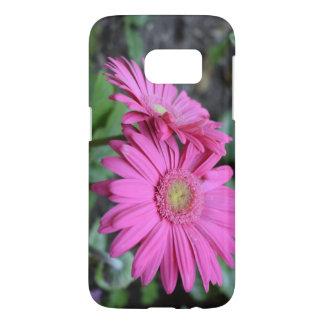 Funda Para Samsung Galaxy S7 Caso hermoso con diseño floral