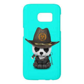 Funda Para Samsung Galaxy S7 Cazador del zombi del oso de panda del bebé