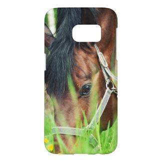 Funda Para Samsung Galaxy S7 colección del caballo. primavera