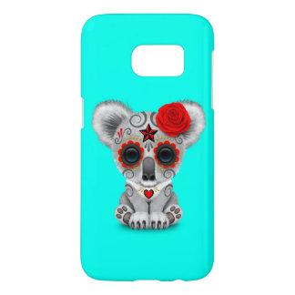 Funda Para Samsung Galaxy S7 Día rojo de la koala muerta del bebé