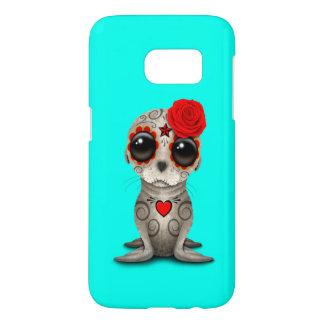 Funda Para Samsung Galaxy S7 Día rojo del león marino muerto del bebé