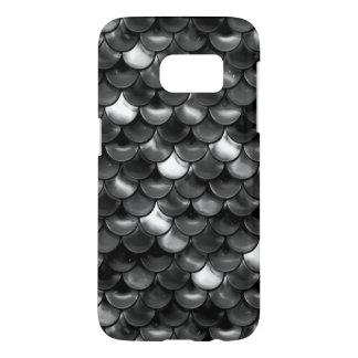 Funda Para Samsung Galaxy S7 Escalas blancos y negros de Falln