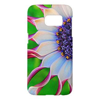 Funda Para Samsung Galaxy S7 Floral elegante púrpura de la margarita africana