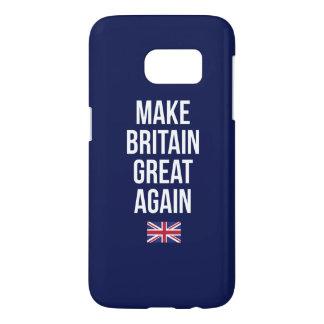 Funda Para Samsung Galaxy S7 Haga Gran Bretaña la gran otra vez bandera Brexit