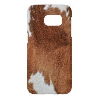 Funda Para Samsung Galaxy S7 Impresión de la piel de la vaca