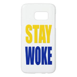 Funda Para Samsung Galaxy S7 La estancia despertó el caso de Samsung - blanco
