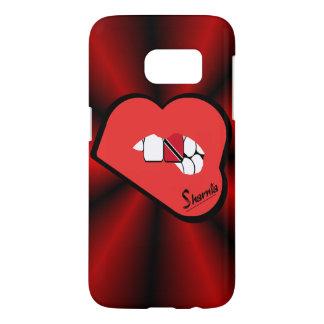 Funda Para Samsung Galaxy S7 Los labios Trinidad de Sharnia y caja Rd Lp del