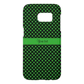 Funda Para Samsung Galaxy S7 Lunares verdes
