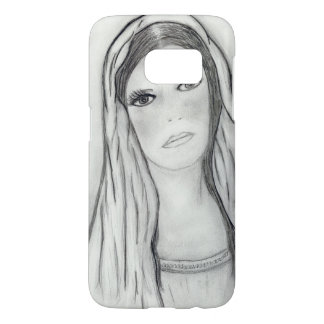 Funda Para Samsung Galaxy S7 Maria triste