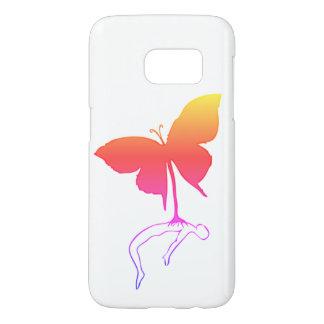 Funda Para Samsung Galaxy S7 Mariposa