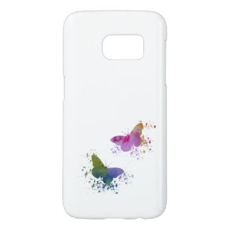 Funda Para Samsung Galaxy S7 Mariposas