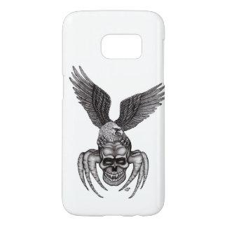 Funda Para Samsung Galaxy S7 Spiderskull con Eagle